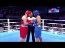 AIBA Women's Youth 2017 FINAL: (81kg) TKACHEVA Kristina (RUS) vs ISLAMBEKOVA Dina (KAZ) 26112017
