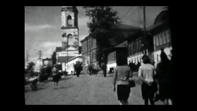 Центр села Суна, 1968 год (отрывок из фильма)