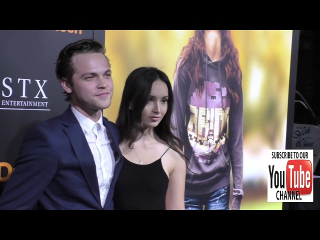 Alexander Calvert at the Screening Of STX Entertainment's The Edge Of Seventeen at Regal LA Live Sta