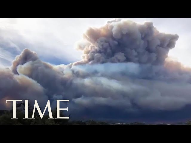 Celebrities Flee California Community As Ash Falls Like Snow: See Timelapse Of The Wildfires | TIME