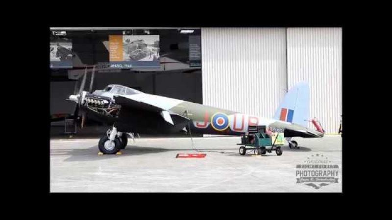De Havilland Mosquito - 34 minutes of Merlin Magic
