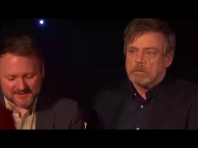 The Last Jedi Sad Mark Hamill