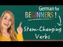 German Lesson (11) - Stem-Changing Verbs - A1