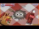 Съедобная ПЛАНЕТА 1 Глазастик на пикнике Съел мышку Мульт игра для детей Tasty Planet