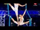 Украина мае талант 5 - Ольга Бойко и Оксана Демиденко (кастинг Одесса)