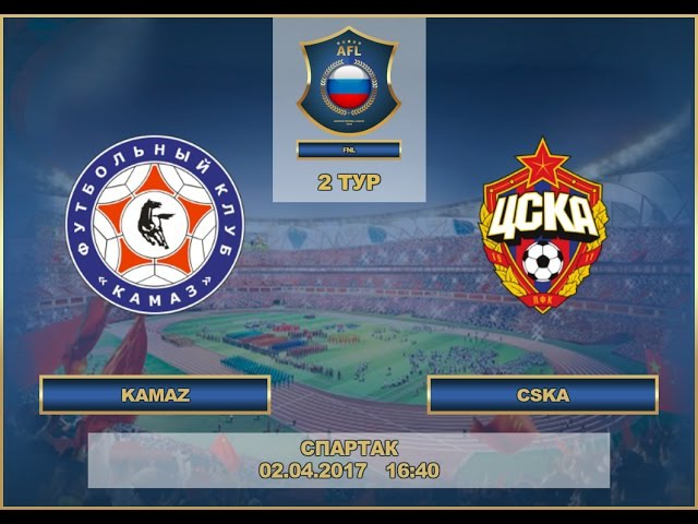 AFL17. Russia. National League. Day 2. KAMAZ - CSKA.