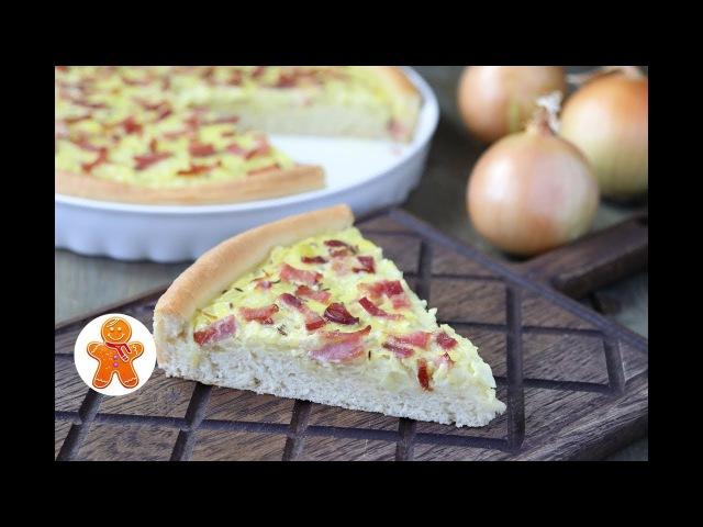 Немецкий Луковый Пирог ✧ Zwiebelkuchen ✧ German Onion Pie (English Subtitles)