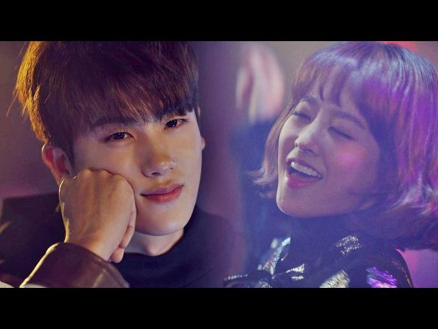 '꿀눈빛' 조준 발사♡ 무아지경 춤추는 박보영 바라보는 박형식 힘쎈여자 460