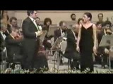 Placido Domingo &amp Kathleen Battle in Libiamo &amp Merry widow