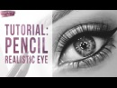TUTORIAL How to Draw a Realistic Eye with Pencil Taylor Brooker