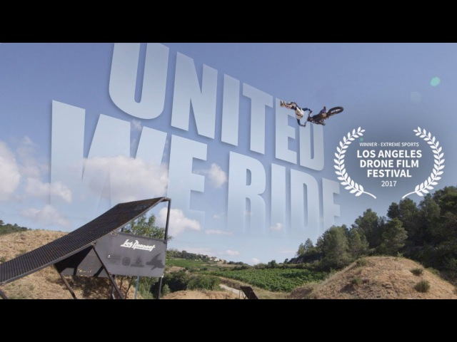 UNITED WE RIDE Winner - 2017 Los Angeles Drone Film Festival