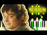 CONCERNING HOBBITS from THE LORD OF THE RINGS - Piano Tutorial