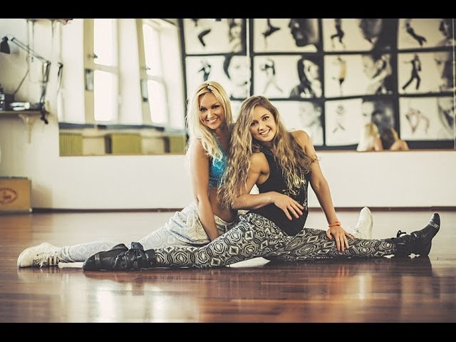 Dance Fitness by Niina and Mariann (DAFT PUNK Get Lucky WILLY WILLIAM LJ BACHATA REMIX)