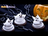 Fantasmini di Marshmallow di Halloween