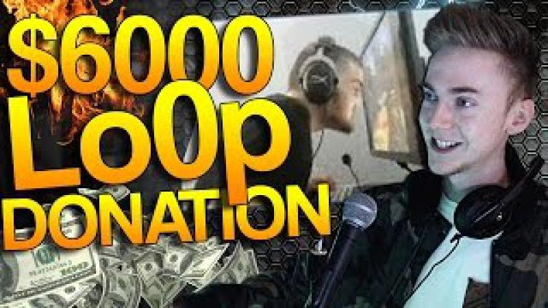 CS:GO - Donating $6000 to Lo0p