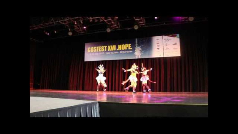 Cosfest XVI Hope Day 2 Love Live Psychic Fire BiBi
