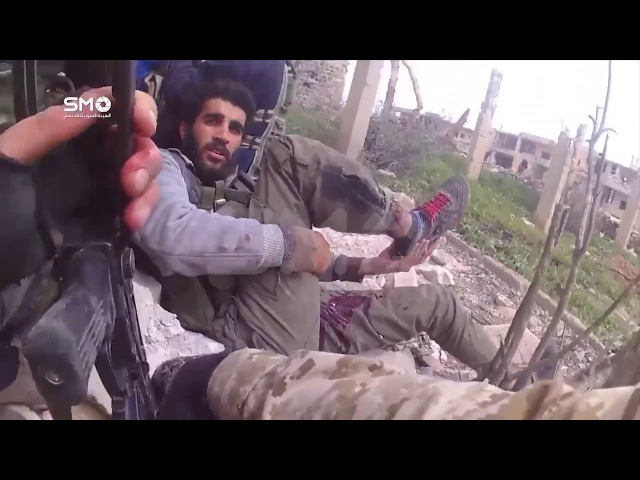 See the storming of the fortifications of the Assad forces in the Manshiyya district of Badra