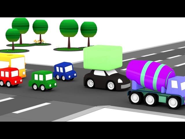 Le macchinine colorate ed il furto al parco giochi | Cartoni animati per bambini