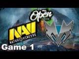 NaVi vs Mineski (Game 1) PGL Open Bucharest Dota 2