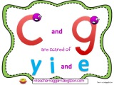 The 2 sounds of C and G