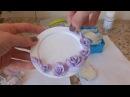 Тарелочка для колец свадебные аксессуары мастер класс