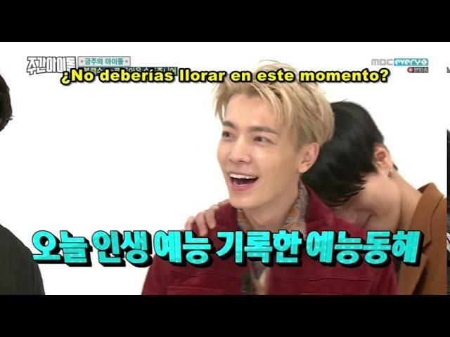 [SUB ESPAÑOL] Weekly Idol E329 parte3 15-11-2017 Super Junior