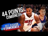 Hassan Whiteside vs Blake Griffin Full Duel 2017.11.05 - Hassan With 21-17, Griffin With 23!