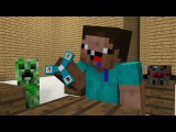 Monster School: Noob life - Pig operation - Brave - Weapons  - Minecraft Animation