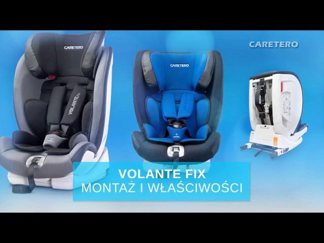 Автокресло Caretero VolanteFix Isofix