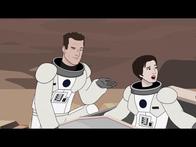 Как следовало закончить фильм Интерстеллар/Interstellar - After Credits (HISHE На Русском)