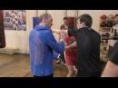 Бокс - упражнения на координационной лестнице