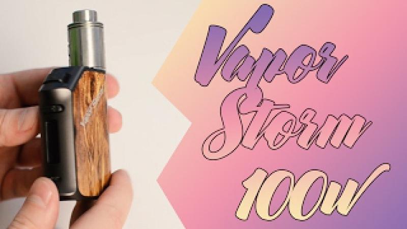 Vapor storm 100w VO chip inside from Cacuqecig