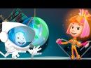 Фиксики Как Работает Солнечная Батарея.Нолик и Симка в Космосе.Поможем Дим Димы ...
