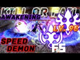 Dragon Nest PvP KDN's God Flurry (GL2E) &amp Sting Breezer v Flurry v Raven Awakening KOF Lv. 95 Spec.