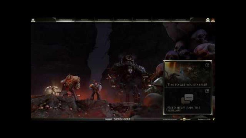 Warhammer 40 000 Dawn of War III DoW3 релизный стрим
