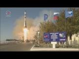 Пуск РКН Союз-2.1а с ТГК Прогресс МС-07
