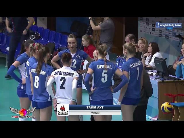 [HD] Dynamo-Metar vs Leningradka | 04-12-2017 | Russian Superleague Womens Volleyball 2017/2018