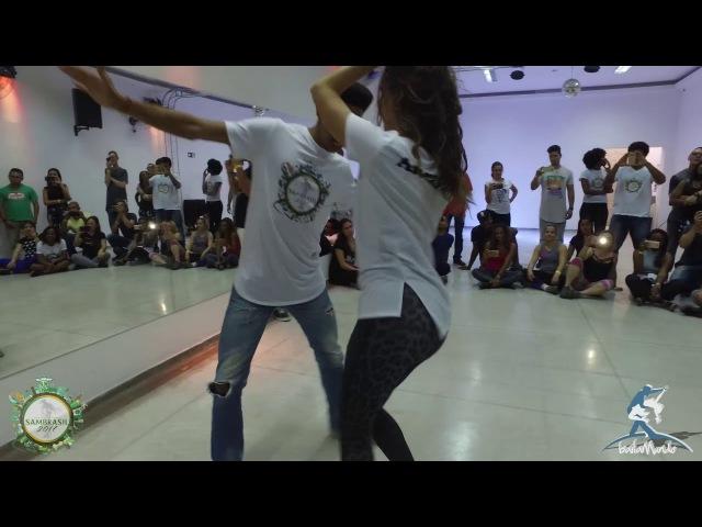 Baila Mundo Adriano Robinho e Evelin Malvares Sambrasil 2017