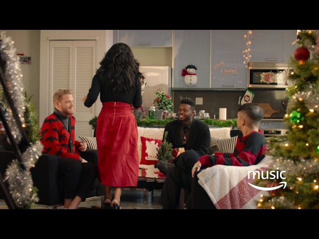 Alexa, play music for unwrapping presents (Kirstin)
