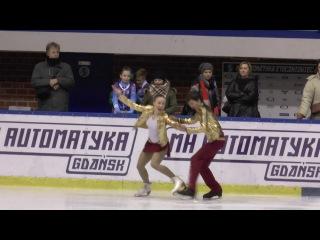 3 Julia GAJEK Dawid KLODZINSKI FD Tance Advanced Novice El OOM Gdansk