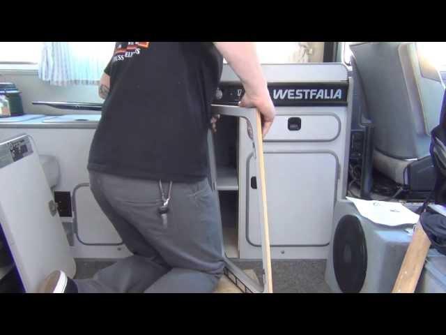 GoWesty : Installing the Fridge Elimination Kit - Vanagon Westfalia