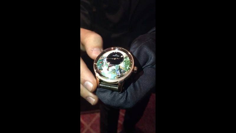 Jaquet Droz made in Swiss