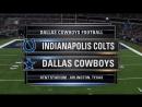 NFL 2017-2018 / PS / Week 02 / Indianapolis Colts - Dallas Cowboys / 19.08.2017 / EN