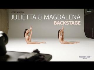Hegre-Art - Julietta And Magdalena - Backstage (18+) [эротика, порно, porno, XXX, Erotic, HD]