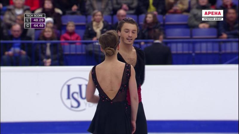 European Championships 2017. Ice Dance - FD. Kavita LORENZ / Joti POLIZOAKIS