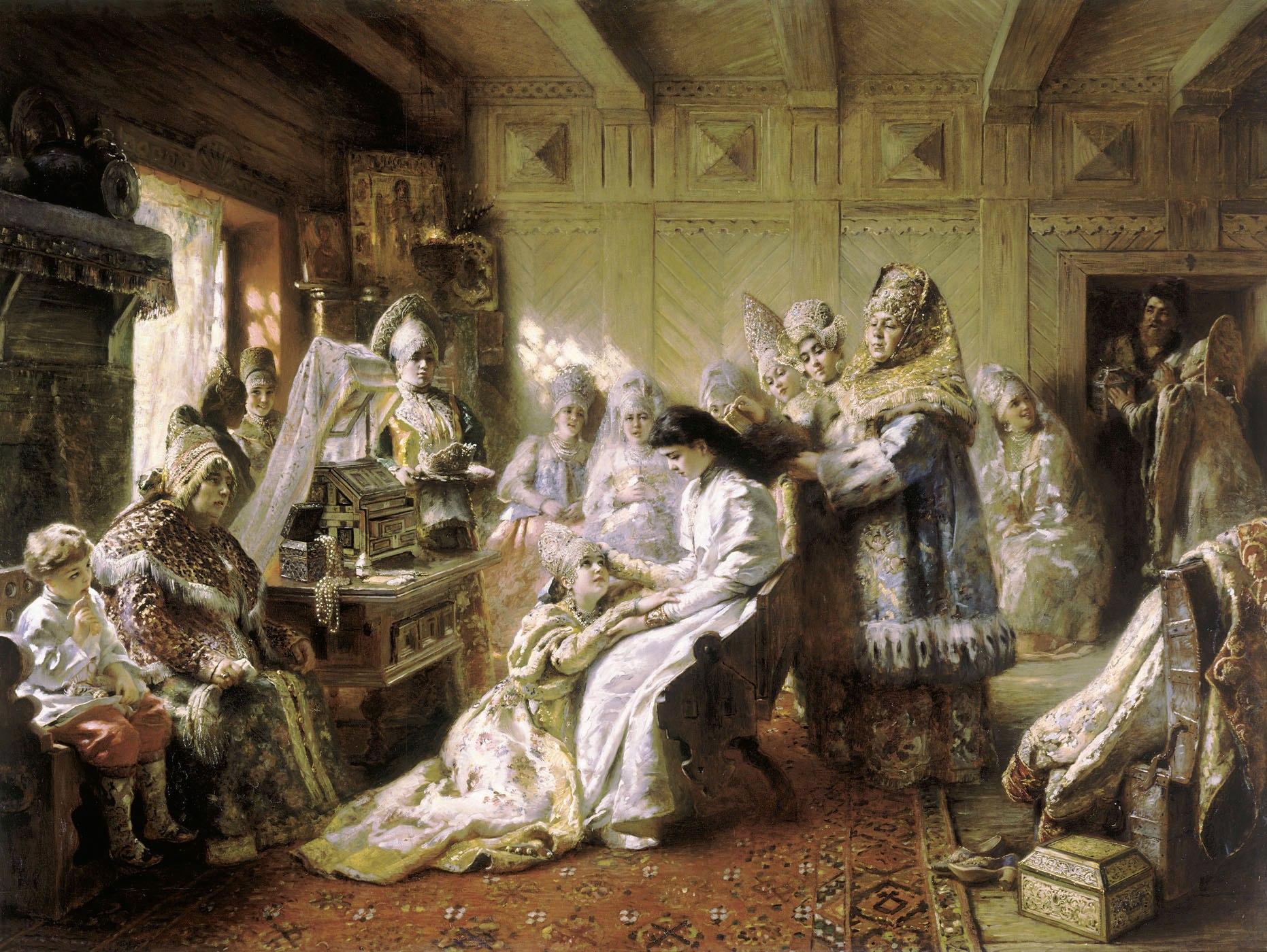 Худосочных в жены не брать и другие древнерусские семейные обычаи