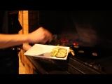 Паприка блюда на гриле