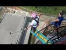 Суровый Челябинск. RopeJumping Жители Старого Оскола прыгают с 79 метров. Экстрим
