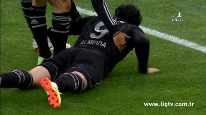 2013 - 2014 Sezonu - Beşiktaş-Gençlerbirliği dakika 35 gol Hugo Almeida
