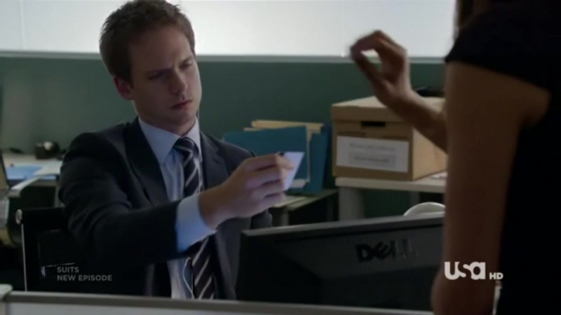 Suits 01x02 Mikes deal